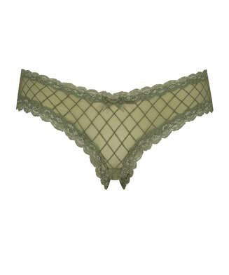 Brazilian V-shape mesh, grün