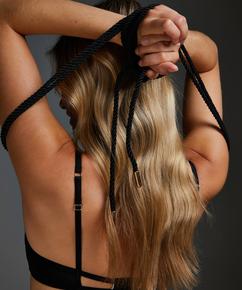 Body Bondage Seil, Schwarz
