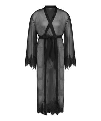 Kimono Long Cravache, Schwarz