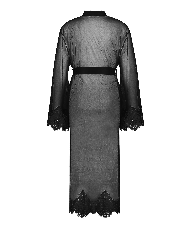 Kimono Long Cravache, Schwarz, main