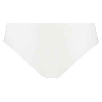 Invisible Brazilian aus Baumwolle, Weiß