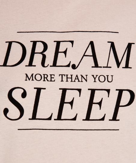 Kurzärmeliges Nachthemd Dream, Rose