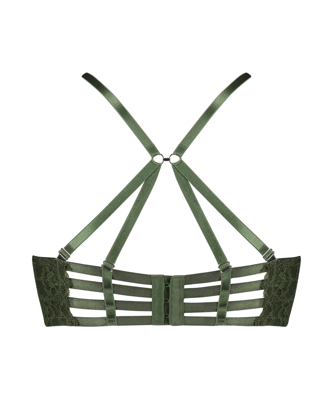 Vorgeformter Longline-Bügel-BH Ollie, grün, main