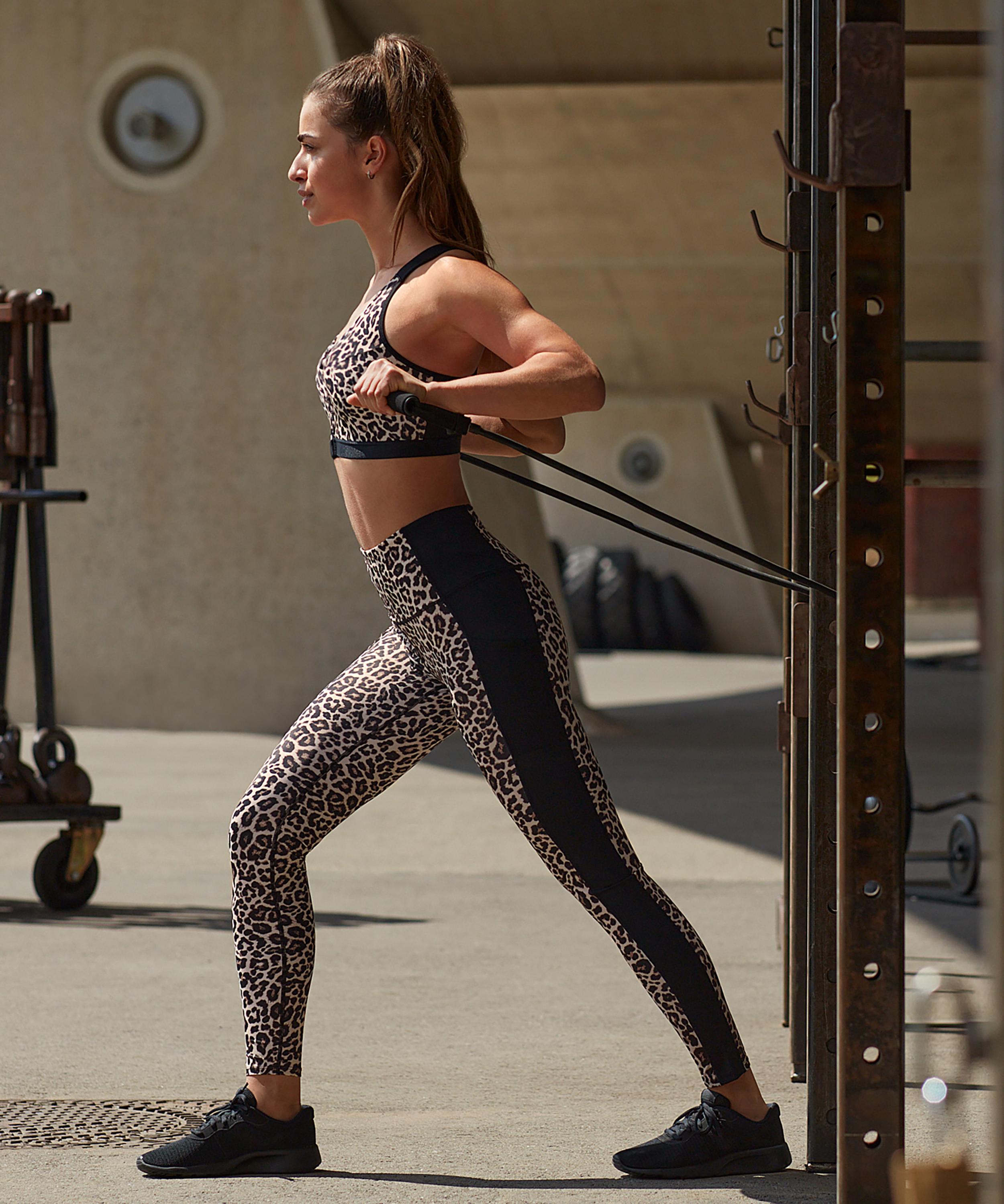 HKMX Sport-Legging mit hoher Taille, Grau, main