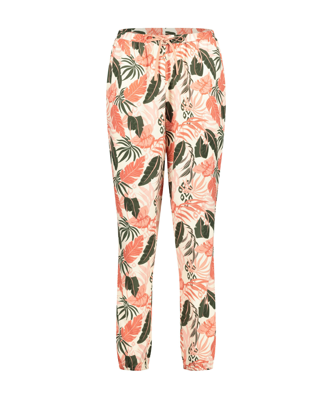 Pyjamahose Woven, Beige, main
