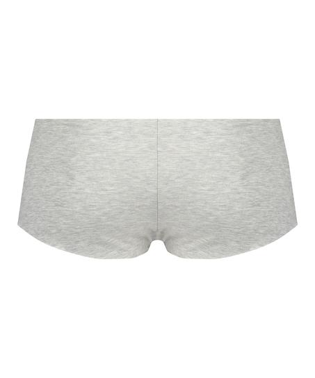Invisible Boxershort aus Baumwolle, Grau