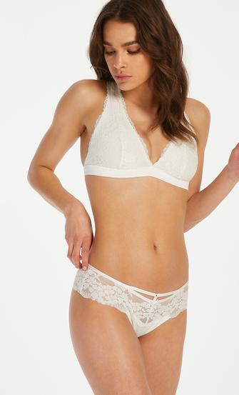 Bralette Alexis, Weiß
