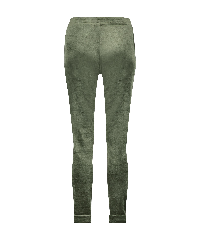 Tall Jogginghose Velours, grün, main