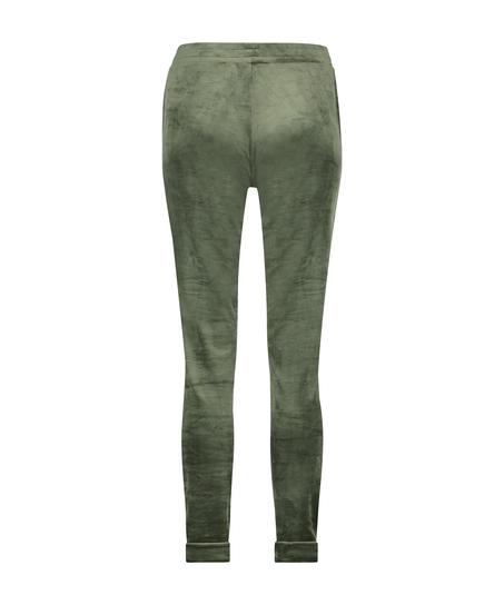 Tall Jogginghose Velours, grün