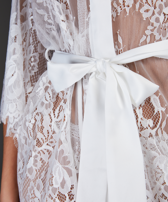 Kimono Lace Isabelle, Weiß, main
