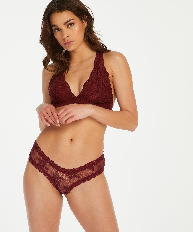Bralette Alexis, Rot, main