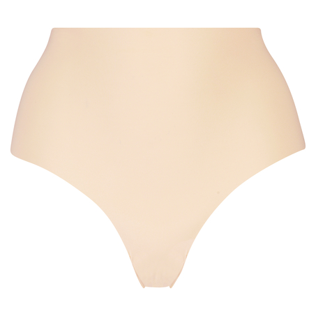 Invisible High-waist Brazilian, Beige