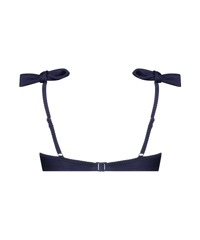 Vorgeformtes Bügel-Bikini-Oberteil Harper, Blau, main