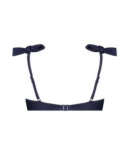 Vorgeformtes Bügel-Bikini-Oberteil Harper, Blau