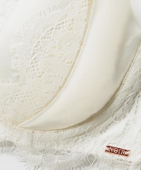Vorgeformter Bügel-BH Hannako, Weiß