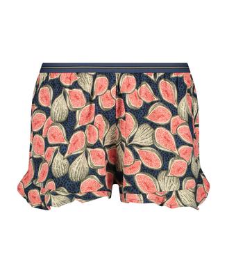 Pyjama-Shorts, Blau