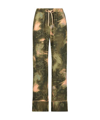 Pyjamahose Woven, grün