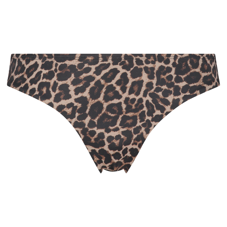 Rio Bikini-Slip Leopard, Beige, main