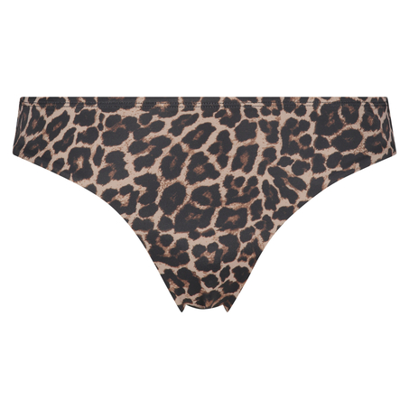 Rio Bikini-Slip Leopard, Beige