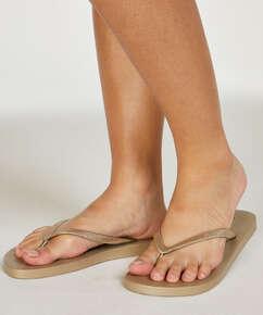 Slippers Fancy, Gelb