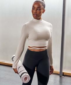 HKMX Make Me Zen High Waisted Legging , Schwarz