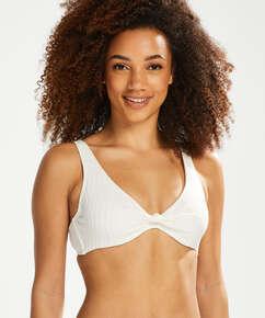 Bikini-Top Emily, Weiß