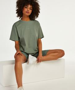 Kurzes Pyjama-Set Biker, grün