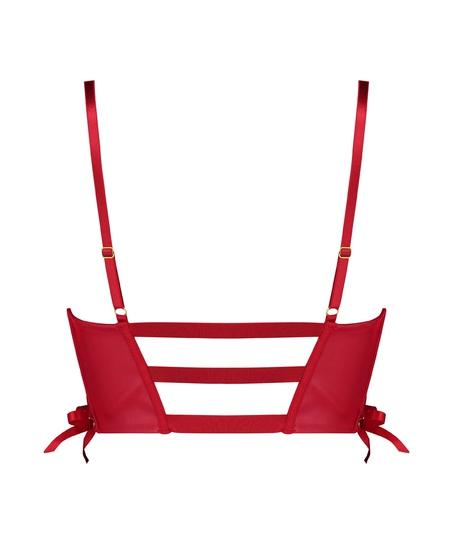 Vorgeformter Push-up-Bügel-BH Manu, Rot