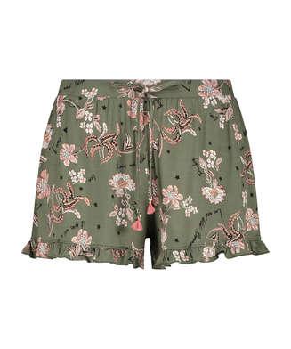Pyjamashorts Jersey, grün