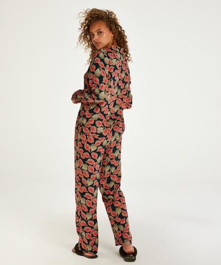 Pyjamatop langärmelig Dragonfly, Blau